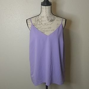a new day pastel purple tank top